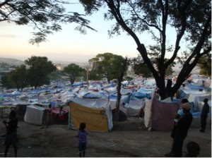 Camp In Haiti