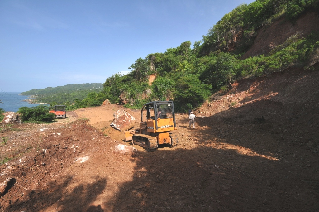 Land Preperation for Construction of Permanent Schools in Labadee