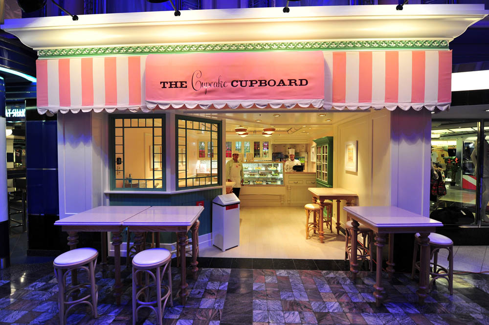 Cupcake Cupboard onboard Liberty of the Seas