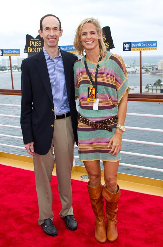 Adam on the Red Carpet with Dara Torres