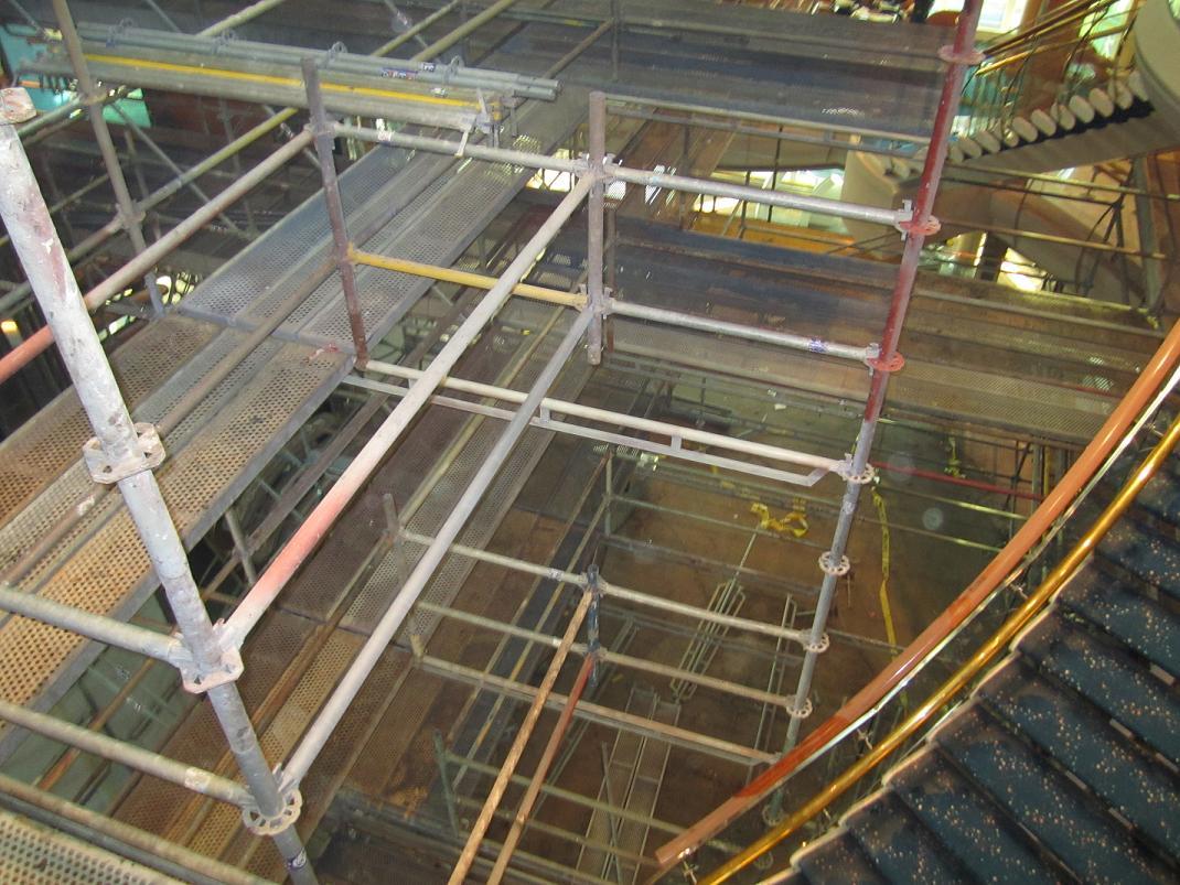 Scaffolding in the Centrum