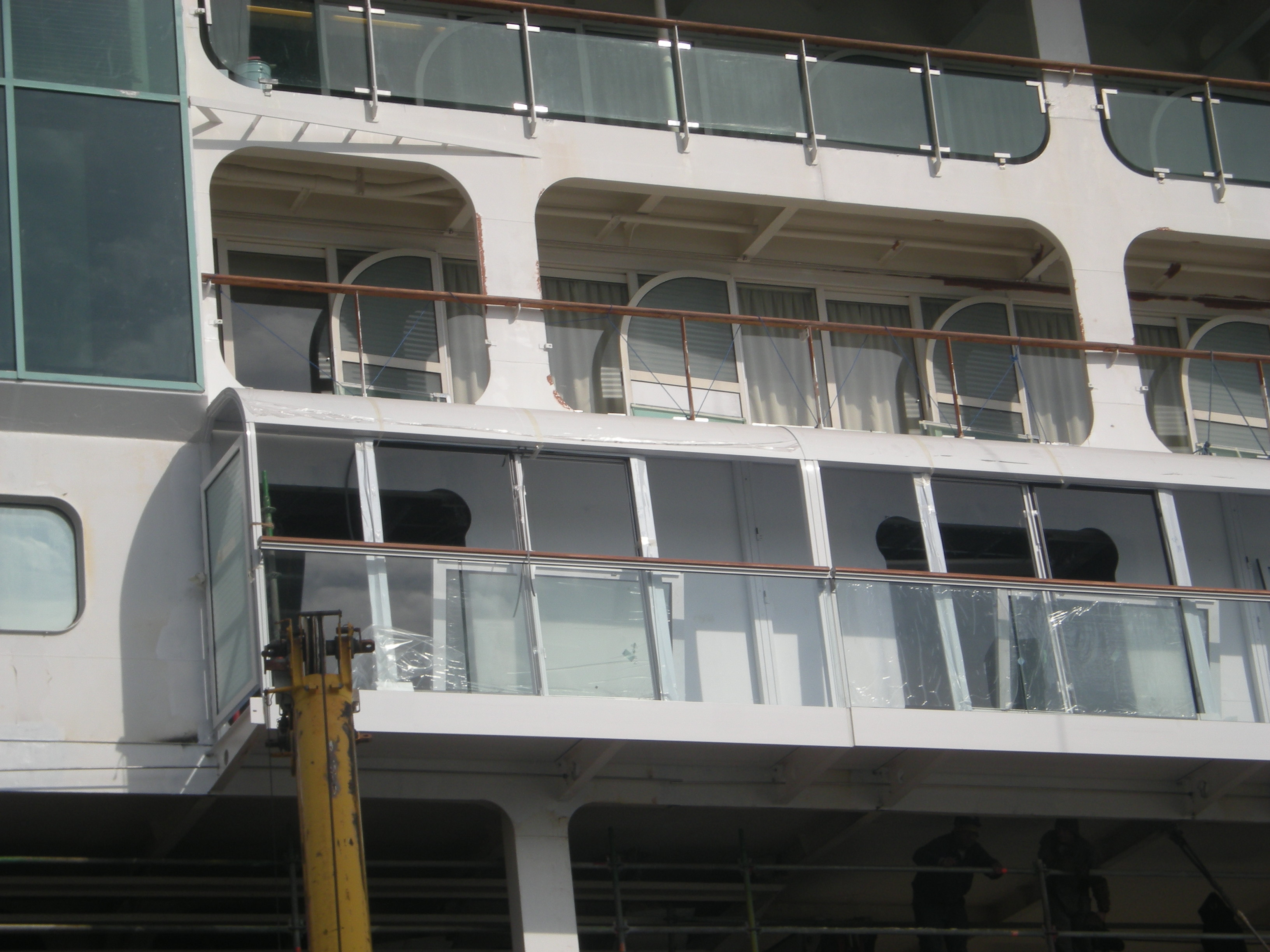 New Balconies Onboard Splendour of the Seas