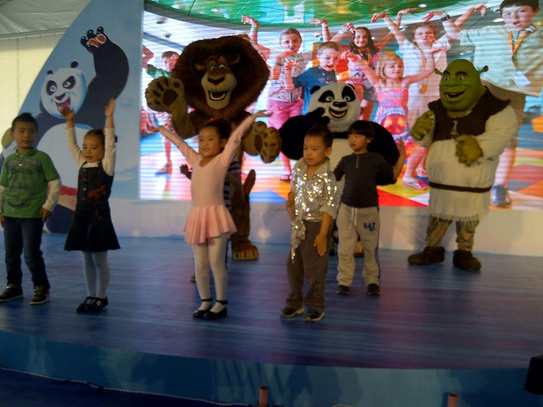 DreamWorks Characters with Children