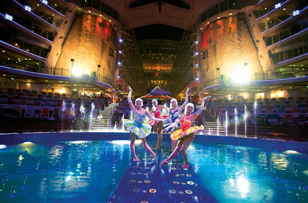 The Aqua Theater onboard Allure